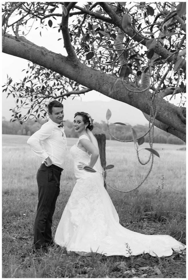 Lisa & David Elope in the Vines