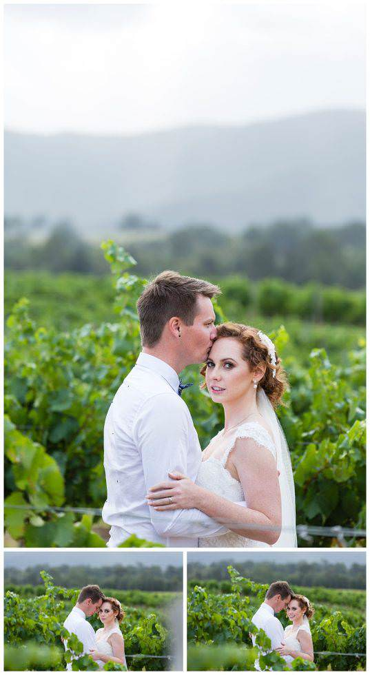 Lisa & David Elope in the Vines